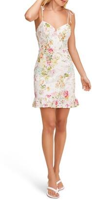 ASTR the Label Mireille Floral Lace Sundress