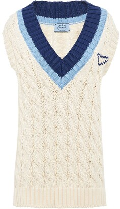 Prada Knitted Cotton Top