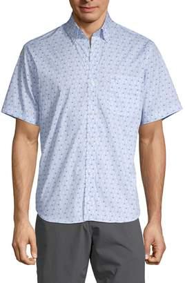 Tailorbyrd Kawika Pineapple-Print Cotton Sport Shirt