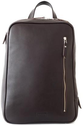 Leather Backpack ''Marjoram'' Dark Chocolate
