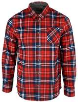 Brave Soul Mens Albert Check Shirt - Red - M