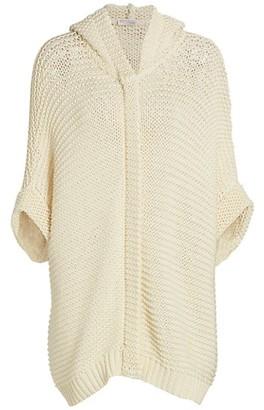 Brunello Cucinelli Hooded Cotton Cardigan