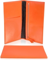Giorgio Fedon Classica Collection - Orange Calfskin Travel Document Case