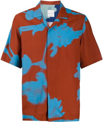Paul Smith Abstract-Print Short-Sleeved Shirt