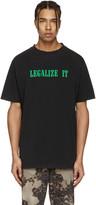 Palm Angels Black legalize It T-shirt