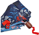 Joules Floral Umbrella, Navy/Multi