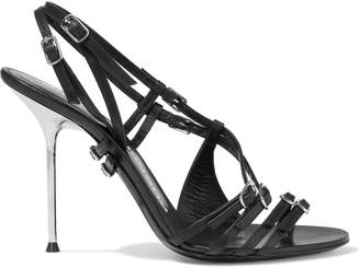 Alexander Wang Kayla Buckled Leather Sandals