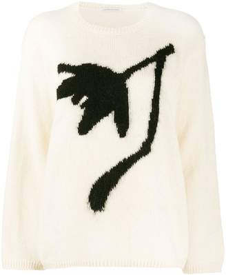 Stefano Mortari floral embroidered sweater