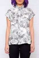 RVCA Floral Blouse