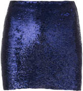 IRO Nobles sequin mini skirt