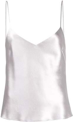 Galvan V-neck metallic camisole