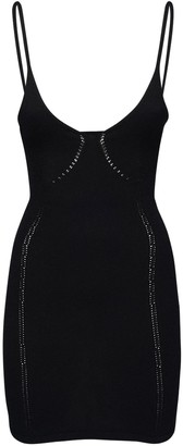 DSQUARED2 Wool & Cashmere Blend Knit Mini Dress