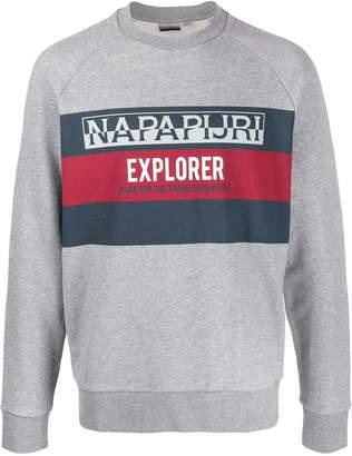 Napapijri Explorer printed sweatshirt