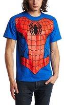 Marvel Spider-Man Men's Costume T-Shirt (Medium/Royal Blue)