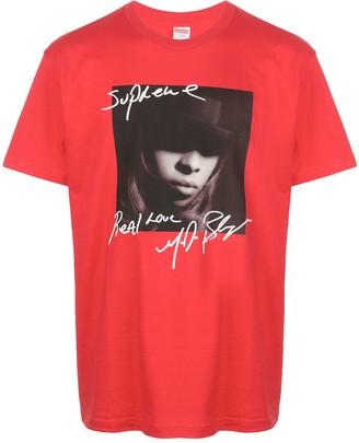 Supreme Mary J. Blige print T-shirt
