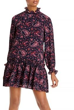 Rebecca Taylor Madeleine Long Sleeve Dress