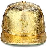 AlwaysBling® Unisex Alligator Pattern 4 Colors Machine Gun Tag Baseball Cap