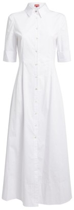 STAUD Joan Shirt Dress