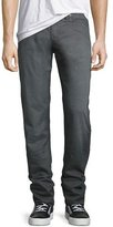 True Religion Geno Over-Dye Twill Jeans, Gray