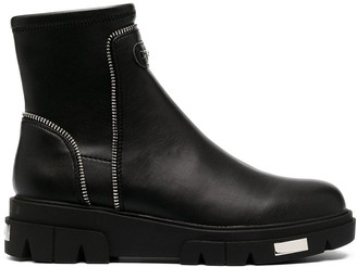 DKNY Chunky Ankle Boots