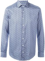 Etro micro paisley print shirt - men - Cotton - S