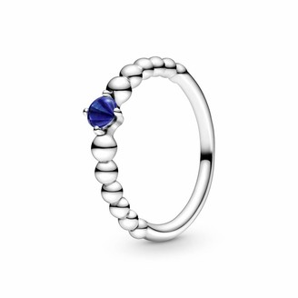 Pandora 198867C12-52 Women's Solitaire Annual Ring 925 Sterling Silver with Ring Size 52