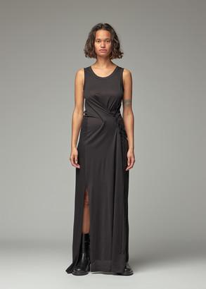 Ann Demeulemeester Women's Side Lace Up Dress in Black Size 36 100% Cotton