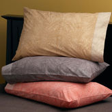 Organic Cotton Washed Paisley Bedding
