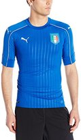 Puma Men's Figc Italia Home Shirt Authentic With Pa