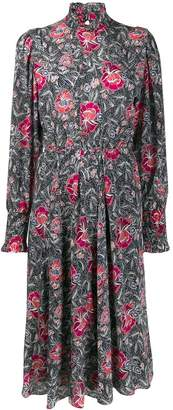 Etoile Isabel Marant floral print midi dress dress