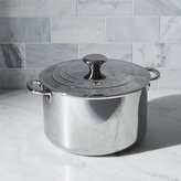Crate & Barrel Le Creuset ® Signature 7 qt. Stainless Steel Stock Pot with Lid