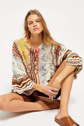 Free People Coral Reef Pullover