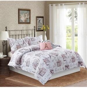 Bloom by Sara Berrenson Margaux 5-Piece Comforter Set, Full/Queen Bedding