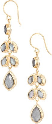 Anna Beck Quartz Kite Chandelier Earrings