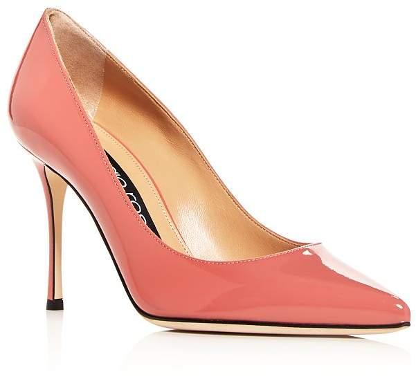 Sergio Rossi Women's Godiva Pointed-Toe Pumps