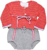 Etcì Handmade Cotton Tricot Cardigan/Coulotte