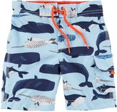 Carter's Toddler Boys' Whale Swim Trunks, Blue