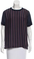 Vince Striped Short Sleeve Top w/ Tags