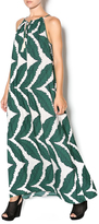 Collective Concepts UnbeLEAFable Maxi Dress