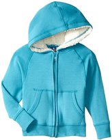 Kickee Pants Zip Front Hoodie (Baby) - Bay - 12-18 Months