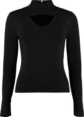 Michael Kors Collection Turtleneck Merino Wool Sweater
