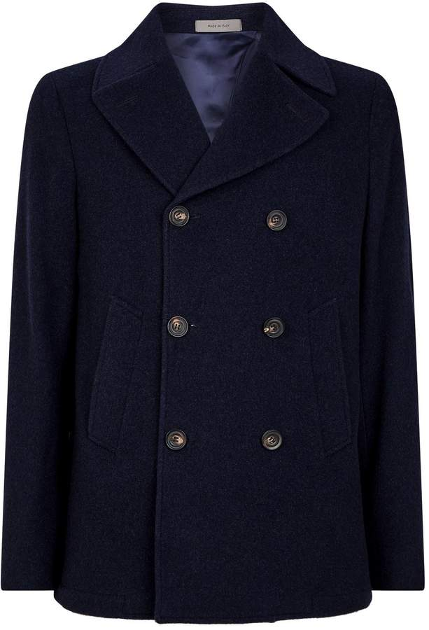 da1a8303b Double-Breasted Cashmere Jacket