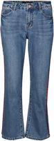Vero Moda Medium Blue Denim Flare Jeans