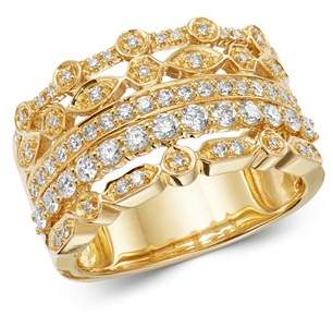 Bloomingdale's Diamond Multi-Row Band in 14K Yellow Gold, 0.75 ct. t.w. - 100% Exclusive