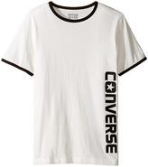 Converse Short Sleeve Ringer Wordmark Boy's Clothing