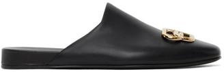 Balenciaga Black BB Mules