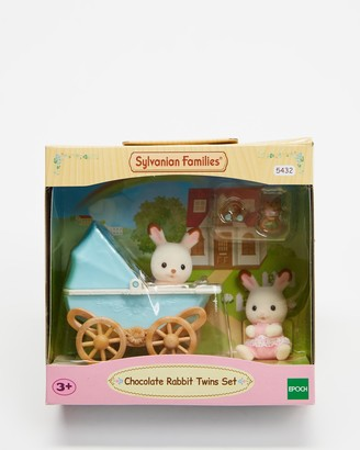 Sylvanian Families White Doll playsets - Chocolate Rabbit Twins Set - Kids - Size One Size at The Iconic