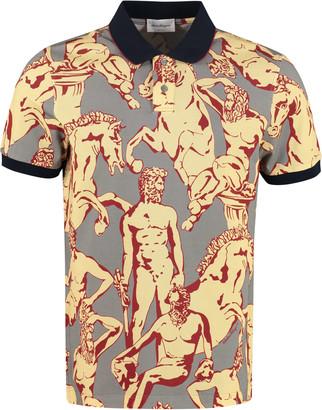 Salvatore Ferragamo Cotton-pique Polo Shirt