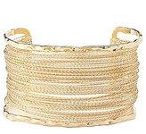 Charlotte Russe Plus Size Embellished Caged Cuff Bracelet