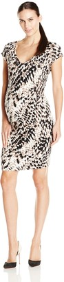 Tart Collections Women's Maternity Freya Rouched Side Short Dress